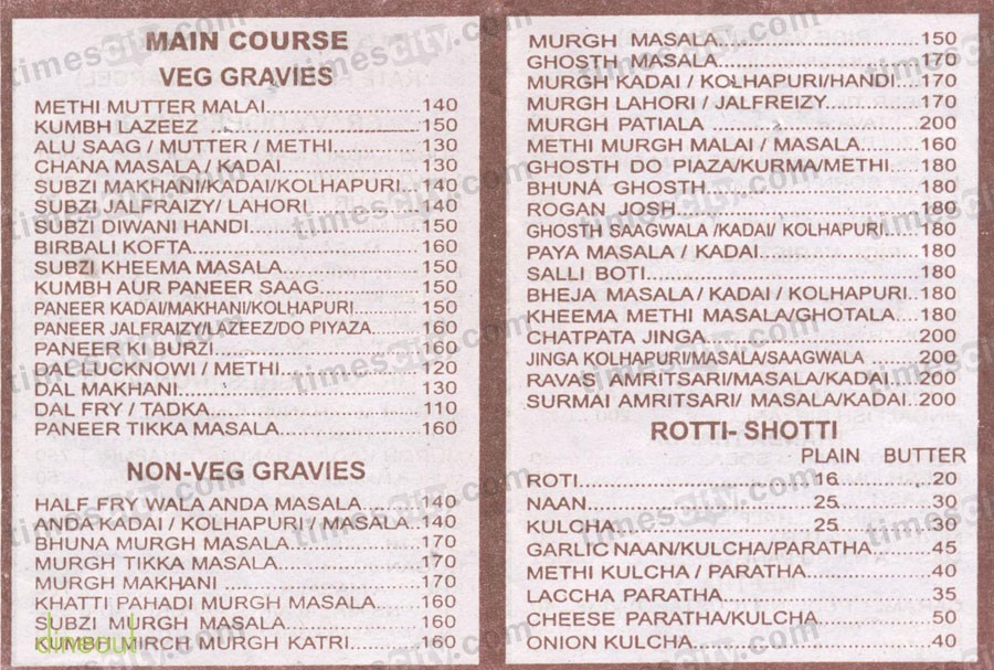 Best Veg Restaurants In Borivali