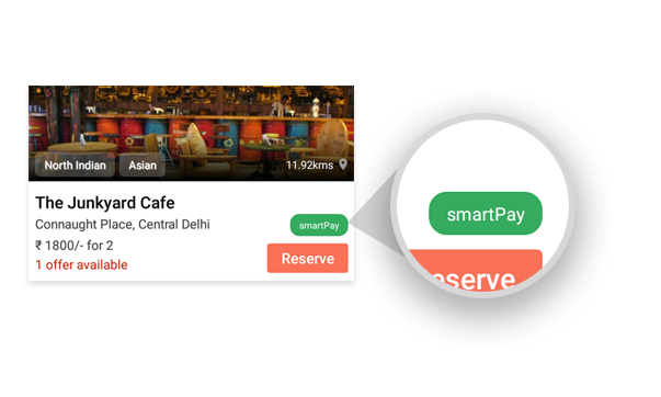 Dineout Smartpay. Courtesy: Dineout