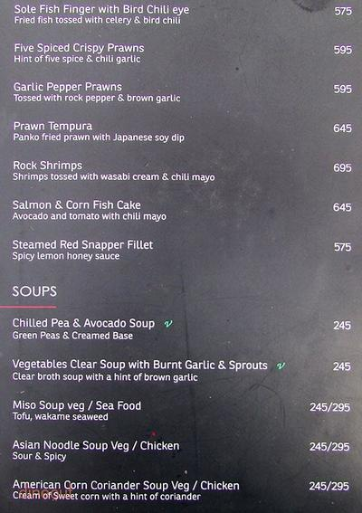 KOA - Kitchen of Asia Menu 1