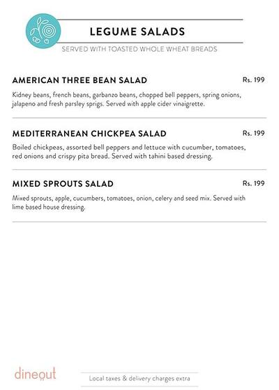 Salad Days Menu 3