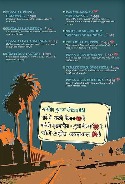 Cafe Delhi Heights Menu 7