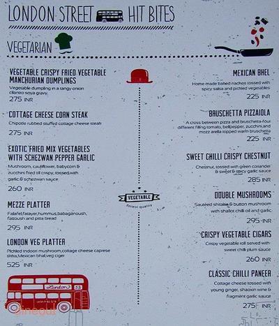 London Kitchen Co. Menu 3