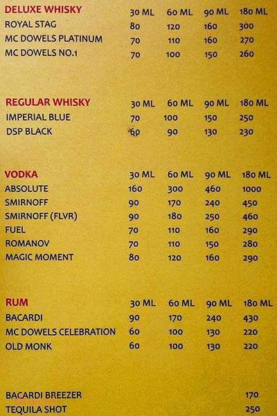 Madhuban Family Restaurant & Bar Menu 6