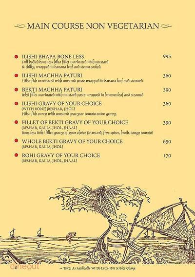 Mandaa - Ethnic Sea Food Menu 7