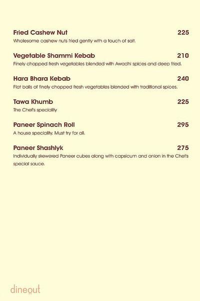 Charcoal Grill Menu 7