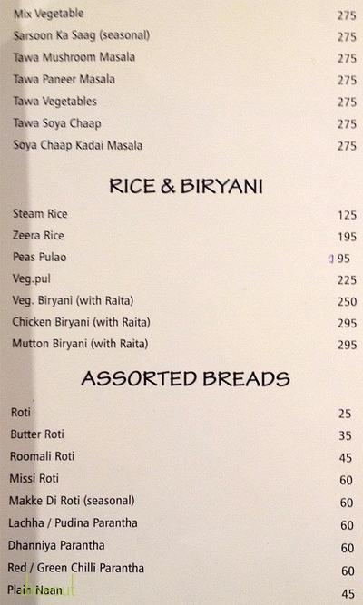 Asiantic Spice Menu 3