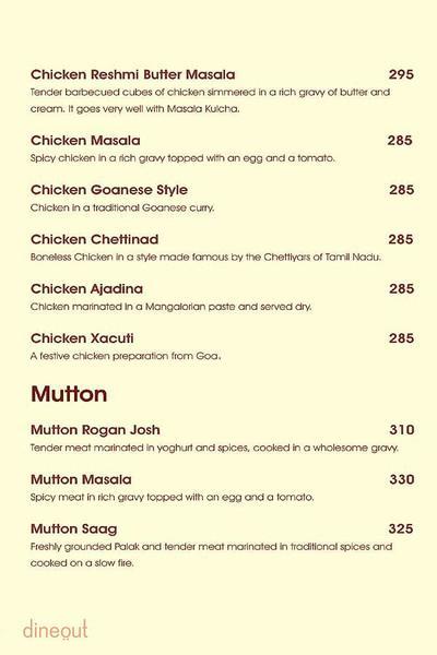 Charcoal Grill Menu 9