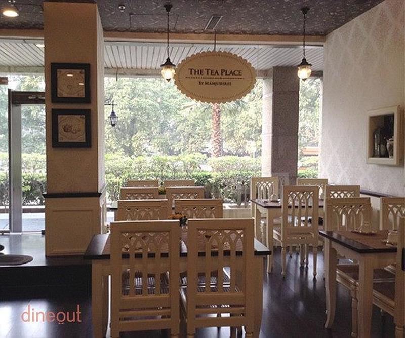 The Tea Place by Manjushree Saket