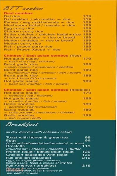By The Tree Cafe Menu 4