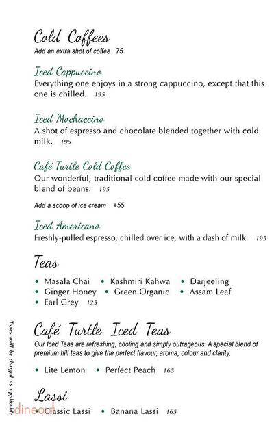 Cafe Turtle Menu 11