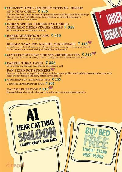 Cafe Delhi Heights Menu 4
