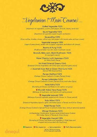 Ardor 2.1 Restaurant & Lounge Menu 10