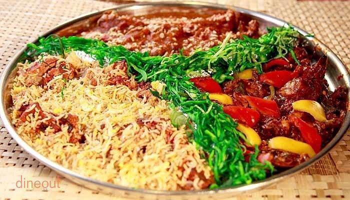 Top 10 mughlai restaurants in mumbai dineout for Assamese cuisine in bangalore