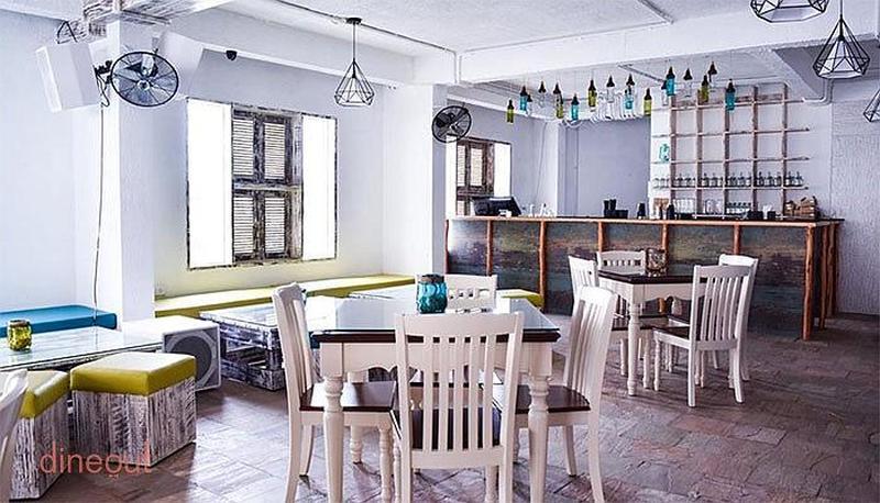 Thalassa the mediterranian terrace lounge church street for The terrace lounge menu