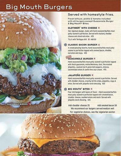 Chili's Menu 4
