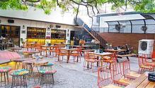 Unplugged Courtyard restaurant