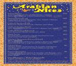 Arabian Nites Menu