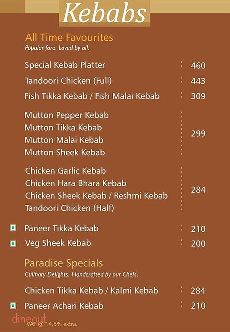 the food of paradise Paradise secunderabad paradise, paradise circle get menu, reviews, contact, location, phone number, maps and more for paradise restaurant on zomato.