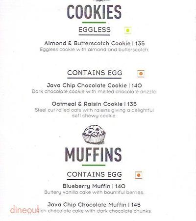 Starbucks Menu 3