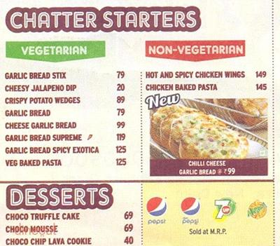 Pizza Hut Menu 7