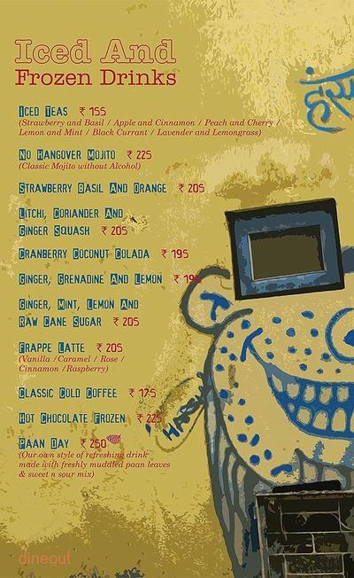 Cafe Delhi Heights Menu 16