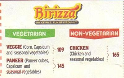 Pizza Hut Menu 8