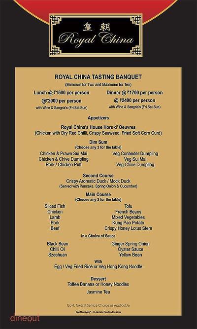 Royal China Menu 2