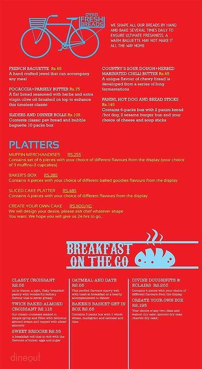 Cafe Delhi Heights Menu 21