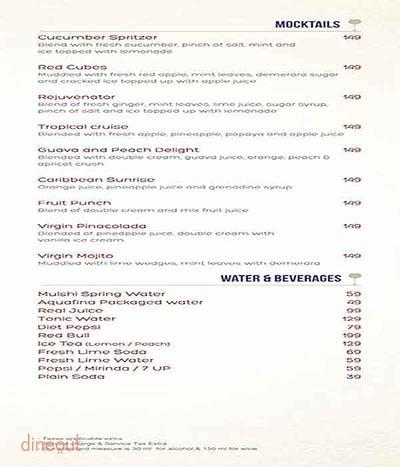 Atlantics Bar Grill & Banquets Menu 12