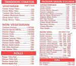 AD's Dilli Kitchen Menu