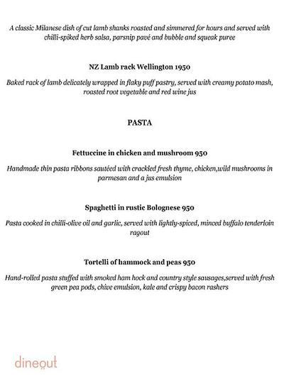 Olive Bar & Kitchen Menu 9