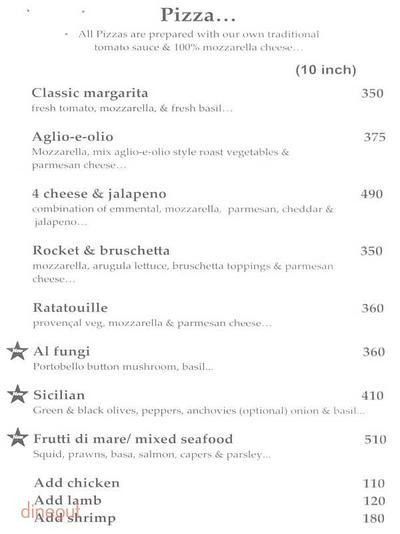 Cafe Basilico - Bistro & Deli Menu 6