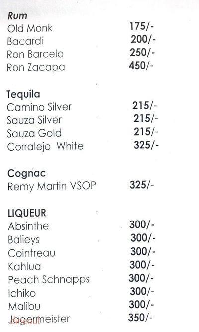 Cocktails & Dreams Speakeasy Menu 8