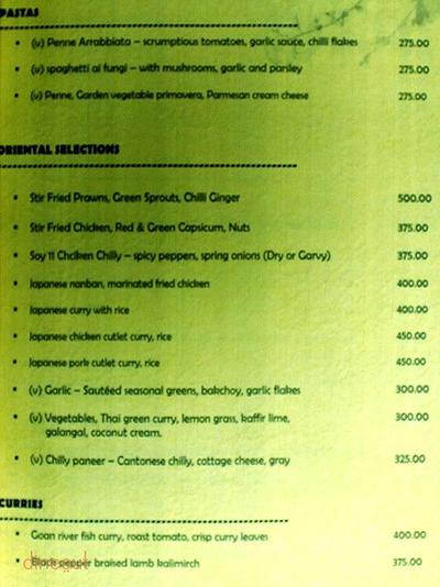 The Food Junction Menu 2