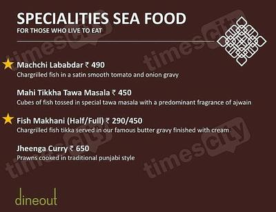 Muraqqa - The Indian Restaurant Menu 6